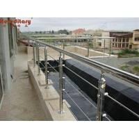 Stainless Steel Baluster /Handrail for outdoor Deck SJ-610