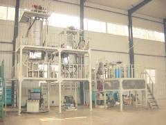 FD-BM600-7 Seven layers co-extrusion shrinkable film blown machine.