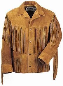Индейская кожаная куртка.  Фото кожаной куртки индейской.