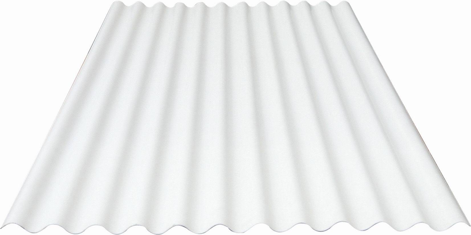 Pitched Roof Insulation White Corrugated Plastic Sheet