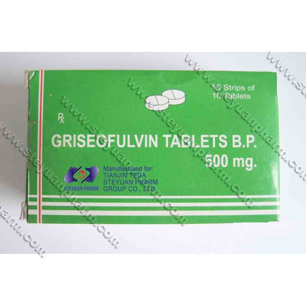 griseofulvin 500mg tablets fungal skin infection