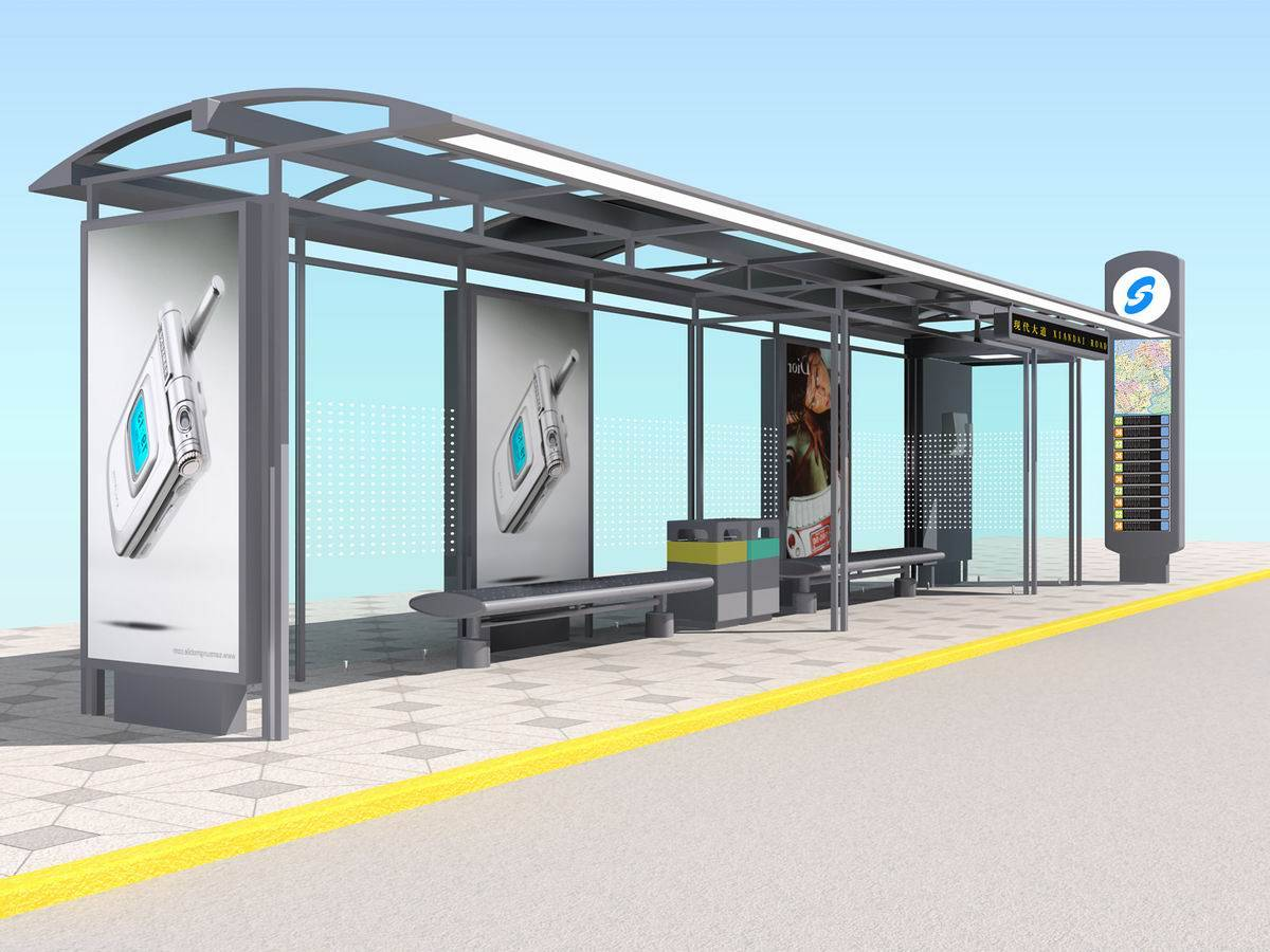 Bus Stop Shelter Shelter Design Sun Bicycle