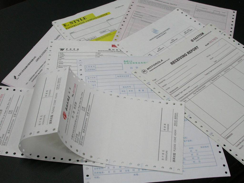 Carbonless Paper Invoices Invoice Book Offset Paper