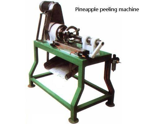 pineapple peeling machine
